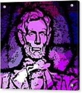 Purple Lincoln Acrylic Print