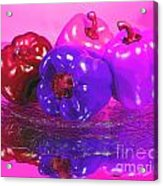 Purple Peppers Acrylic Print
