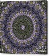 Purple Pleasure Abstract Acrylic Print