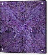 Purple Poeticum Acrylic Print