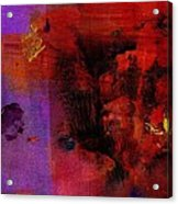 Purple Rain I Acrylic Print