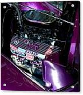 Purple Ratnow Acrylic Print