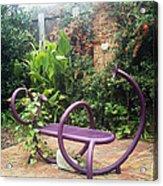 Purple Seat Acrylic Print