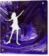 Purple Taffy Acrylic Print