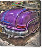 Purplre Car Dearborn Mi Acrylic Print