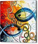 Purposeful Ichthus By Two Acrylic Print