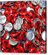 Push Chevys Buttons Acrylic Print
