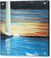 Put-in-bay Perry's Monument - International Peace Memorial  Acrylic Print