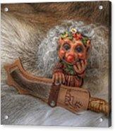 Puukko Troll Acrylic Print