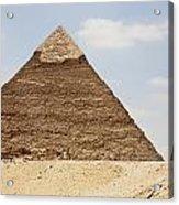 Pyramid Of Khafre Chephren, Giza, Al Acrylic Print