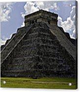 Pyramid  Of Kukulkan  Acrylic Print