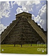 Pyramid Of Kukulkan Two Acrylic Print