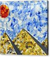 Pyramidscape Acrylic Print