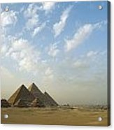 Pyramids,giza,egypt Acrylic Print