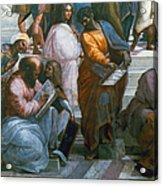 Pythagoras (569-475 B.c.) Acrylic Print