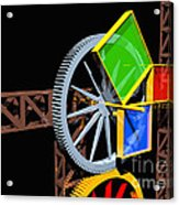 Pythagorean Machine Landscape 2 Acrylic Print