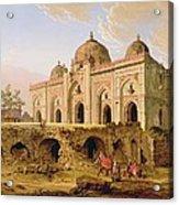 Qal' A-l-kuhna Masjid - Purana Qila Acrylic Print