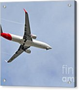 Qantas Heading Home Acrylic Print