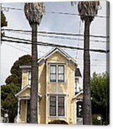 Quaint House Architecture - Benicia California - 5d18592 Acrylic Print