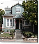Quaint House Architecture - Benicia California - 5d18594 Acrylic Print by Wingsdomain Art and Photography