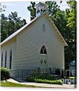 Quaker Church Acrylic Print