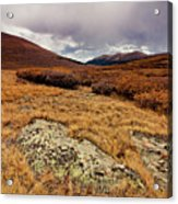 Quanella Pass Acrylic Print by Dragonfly 7