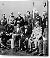 Quebec Conference, 1944 Acrylic Print