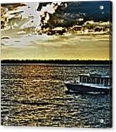 Queen City Ferry Acrylic Print