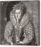 Queen Elizabeth I, English Monarch Acrylic Print