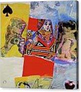 Queen Of Spades 45-52 Acrylic Print
