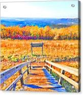 Queen Wilhelmina State Park Acrylic Print