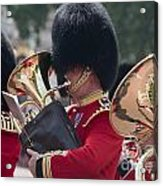 Queens Guards Band Acrylic Print