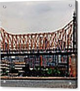 Queensboro Bridge Acrylic Print