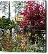 Quiet Autumn Pond Acrylic Print