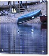 Quiet Canoes Acrylic Print