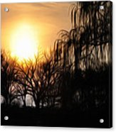 Quiet Country Sunrise Acrylic Print