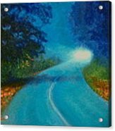 Quiet Road Home Acrylic Print