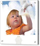 Quinn Acrylic Print