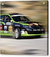 Race Acrylic Print