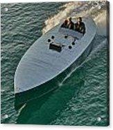Raceboat Mercury Acrylic Print