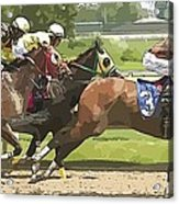 Racetrack Views Acrylic Print