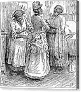 Racial Caricature, 1886 Acrylic Print