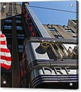 Radio City Music Hall 2 Acrylic Print
