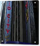 Radio City Music Hall Cirque Du Soleil Acrylic Print by Lee Dos Santos