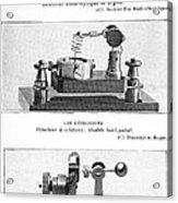 Radio Receiver Components, 1914 Acrylic Print