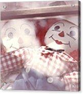 Raggedy Ann And Andy Acrylic Print
