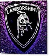 Raging Bull Acrylic Print