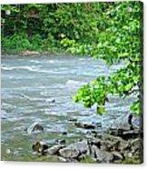Raging River Acrylic Print