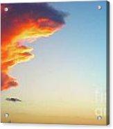 Raging Sky Acrylic Print