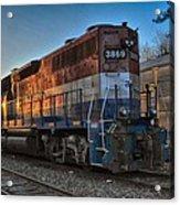 Rail America's 3869 Acrylic Print